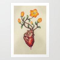 THIS BLEEDING BLOSSOMIN… Art Print