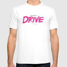 Drive (Classic) SMALL Mens Fitted Tee White