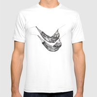 Check Out My Hammocks! Mens Fitted Tee White SMALL