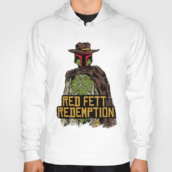 Red Fett Redemption Hoody