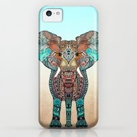 iPhone 5c Cases featuring ElePHANT by Monika Strigel