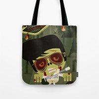 Elvis Zombie Tote Bag