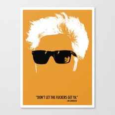 Jim Jarmusch Hair Canvas Print