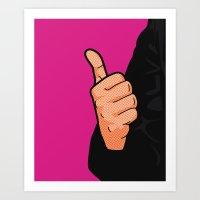 Pop Icon - Fonzie Art Print