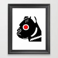 Zelonicus Dog Framed Art Print