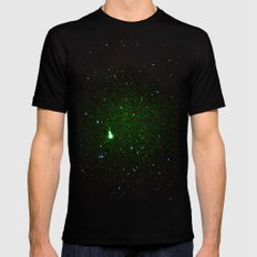 space noise. Mens Fitted Tee Black SMALL