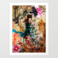 Fairy Painting Art Print