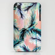 Pink Tropical Haze iPhone (3g, 3gs) Slim Case
