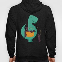 T-Rex And His Basketful … Hoody