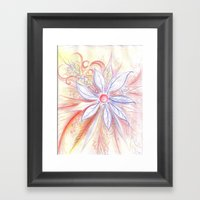 Ice Melt Framed Art Print