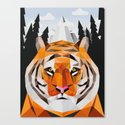 The Siberian Tiger Canvas Print