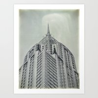 Vintage Chrysler Cuilding 1930's Art Print