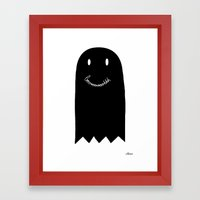 Booooh Framed Art Print