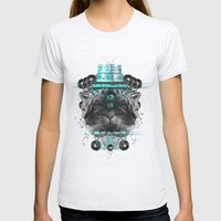 Cattus Womens Fitted Tee Ash Grey SMALL