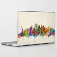 New York City Skyline Laptop & iPad Skin