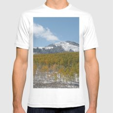 Colorado White Mens Fitted Tee SMALL