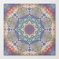 Jungle Kaleidoscope Canvas Print