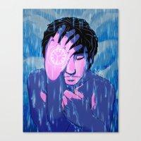 Like tears in the rain Canvas Print