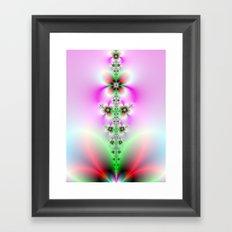 Flower Burst Framed Art Print
