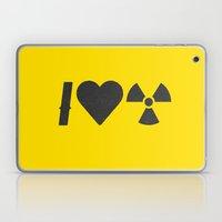 I Love Radiation Laptop & iPad Skin
