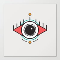 The Seeing Eye Canvas Print