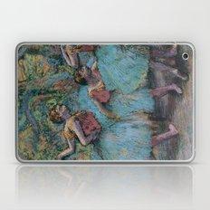 Edgar Degas - Three Dancers (Blue Tutus, Red Bodices) Laptop & iPad Skin