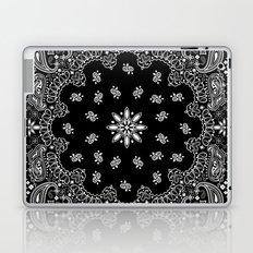 black and white bandana Laptop & iPad Skin