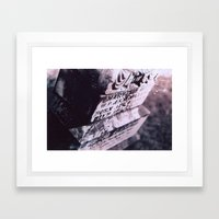 Hail Mary Framed Art Print