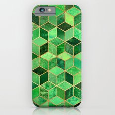 Green Cubes Slim Case iPhone 6s