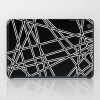 To The Edge Black #2 iPad Case