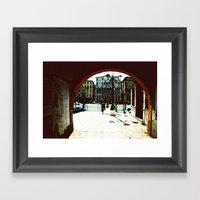 Venice - Archway Onto Th… Framed Art Print