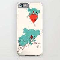 iPhone & iPod Case featuring Red Balloon by Jay Fleck