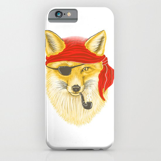Foxy Pirate iPhone & iPod Case