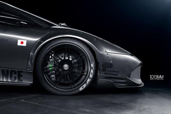 Widebody Lamborghini Murcielago Art Print