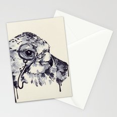 Monocle Bird Stationery Cards