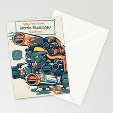 Atomic Blastoise  Stationery Cards