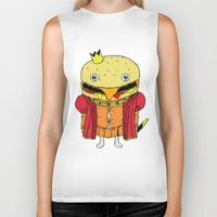 Royale With Cheese Biker Tank