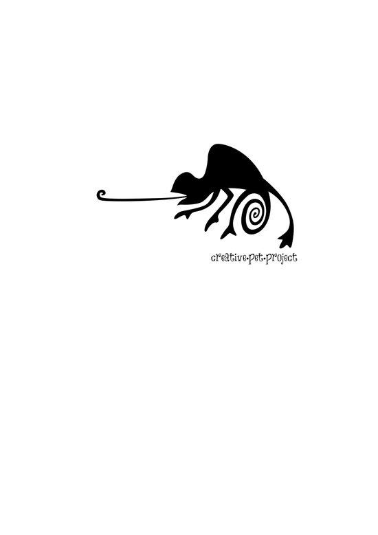 Chameleon 2 Art Print