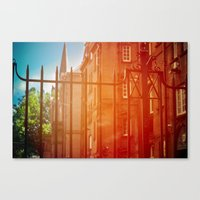 Outside The Gate Canvas Print