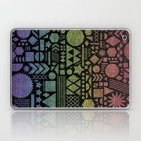 Modern Elements with Spectrum. Laptop & iPad Skin