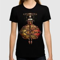LA STORIA Womens Fitted Tee Black SMALL