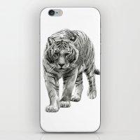 Walking Tigress SK088 iPhone & iPod Skin