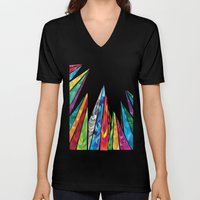 Up to the mountains Unisex V-Neck