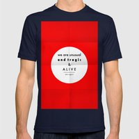 Eggers - We Are Unusual … Mens Fitted Tee Navy SMALL
