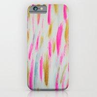 Brightly Brushed iPhone 6 Slim Case