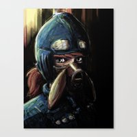 Nausicaa Of The Valley O… Canvas Print