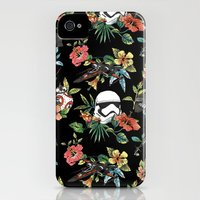 iPhone 4 Case featuring The Floral Awakens by Josh Ln