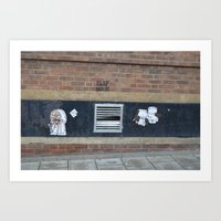 trap door birmingham Art Print