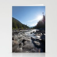 Along The Water Stationery Cards