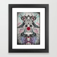 XLOVA1 Framed Art Print